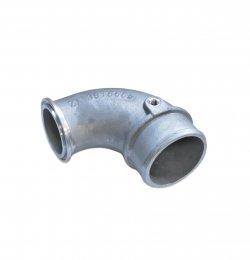 Патрубок турбины угловой впускной 4ISBe 4898589/4898587 Cummins