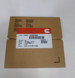 Кольца поршневые (6BTAA5.9, QSB5.9) STD CUMMINS / Камминз 4089460 Cummins