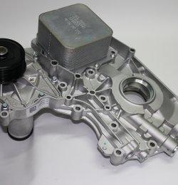 Крышка передняя двигателя ISF2.8 Евро 3 5269790 5273772 5302884 голая